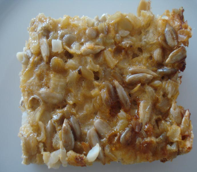 Sunflower seed, Rice & Cheese slice