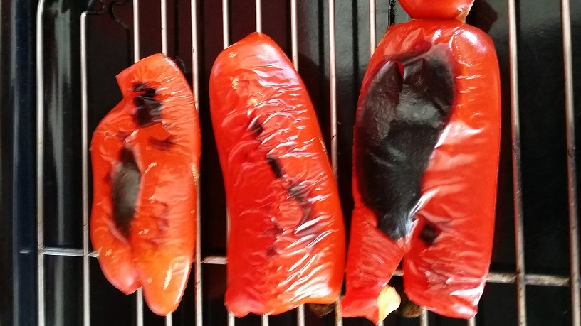 Roasted red capsicum